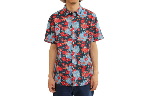 MENS FANTASIA FLORAL SHORT SLEEVE BUTTON UP