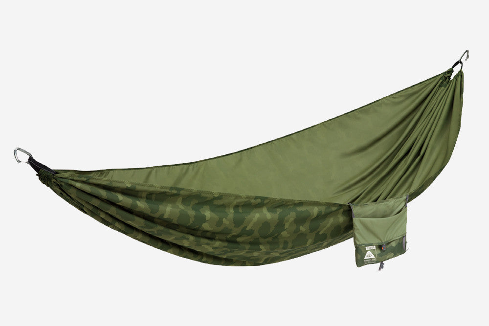THERM-A-REST SLACKER DOUBLE HAMMOCK - Green Furry Camo