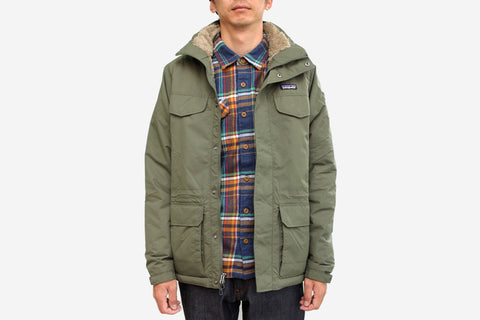 MEN'S ISTHMUS PARKA - Industrial Green