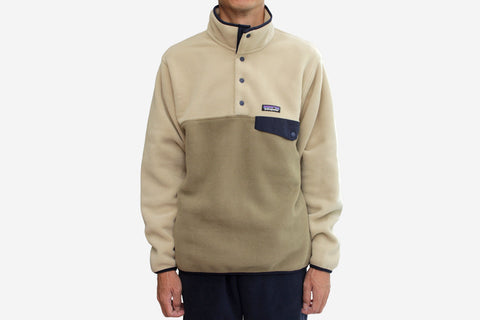 MEN'S LIGHTWEIGHT SYNCHILLA SNAP-T PULLOVER - Ash Tan