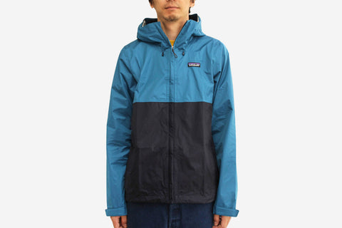 MEN'S TORRENTSHELL JACKET - Underwater Blue/ Navy Blue