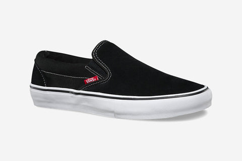 SLIP-ON PRO - Black/White/Gum