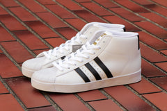 PRO MODEL VULC ADV - Running White/Core Black/Gold Met - BY4095