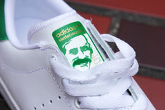 STAN SMITH VULC - Runnig White/Running White/Green - B49618