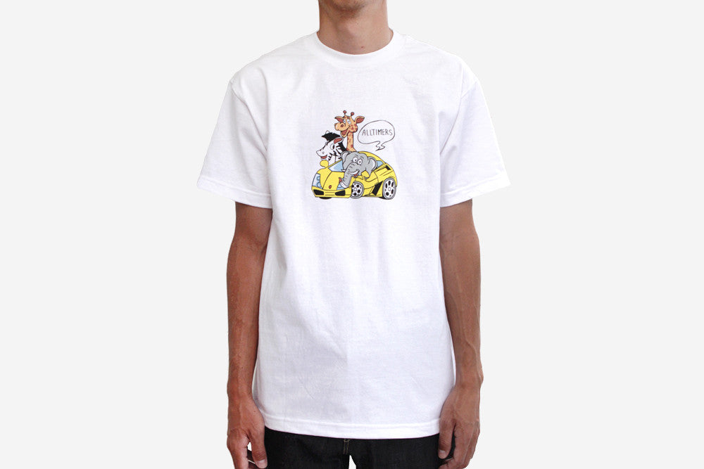 RICH ZOO TEE - White