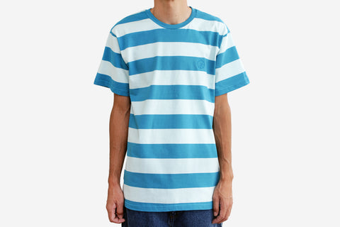 DEAR, BLOCK STRIPE TEE - Mint
