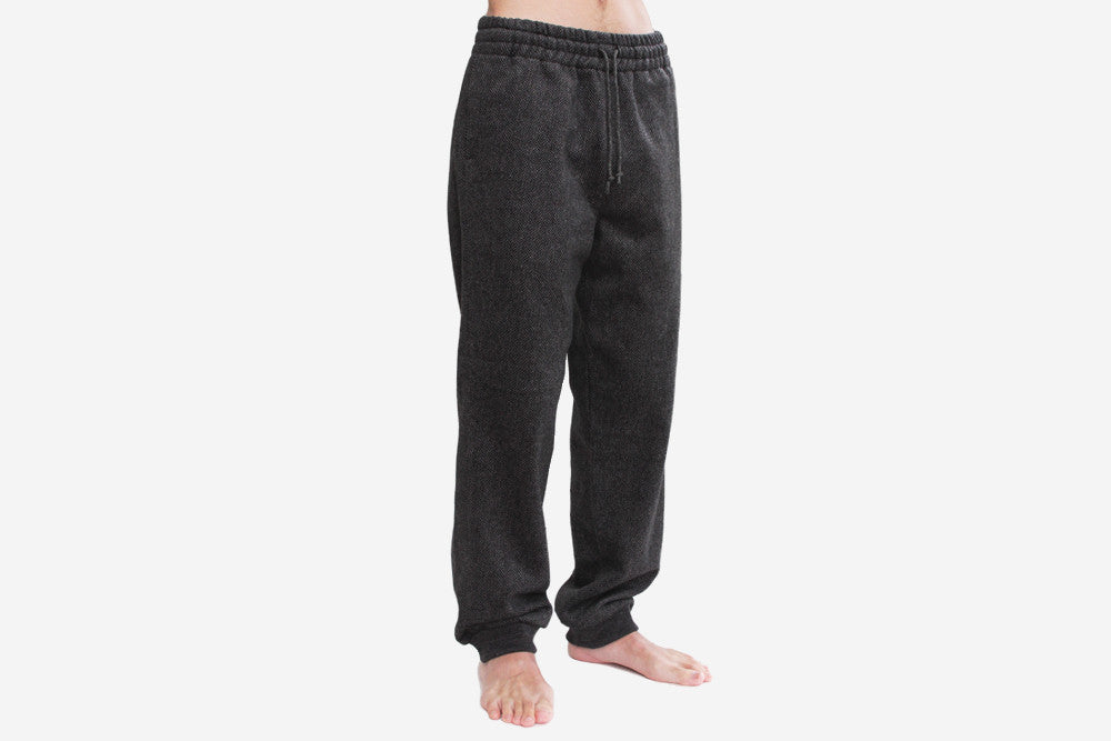2017 WOOL FLANNEL PANTS - Charcoal