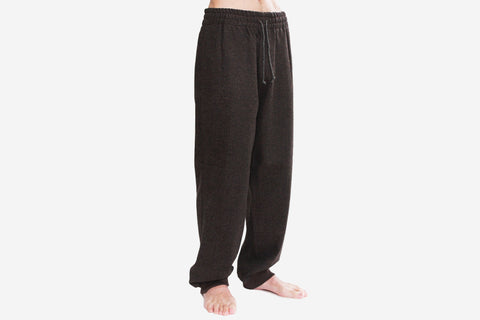 2017 WOOL FLANNEL PANTS - Herring Bone