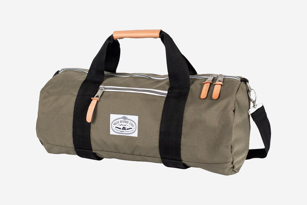 CLASSIC CARRY-ON-DUFFEL - Burnt Olive
