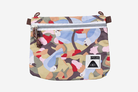 LARGE POUCH - Birdy Print