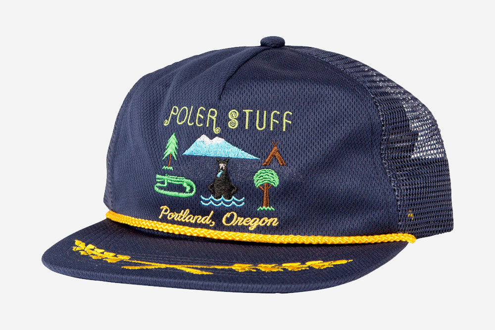 TOURIST TRAP TRUCKER - Navy