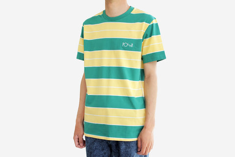 DANE TEE - Palm Green/ Pastel Yellow