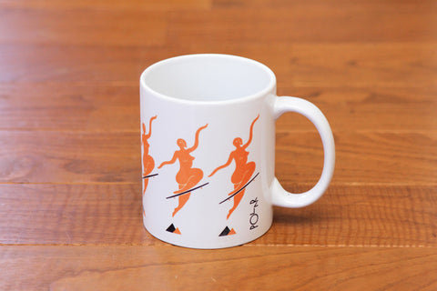 NO COMPLY COFFEE MUG - Orange