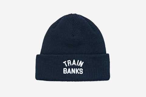 TRAIN BANKS BEANIE - Navy
