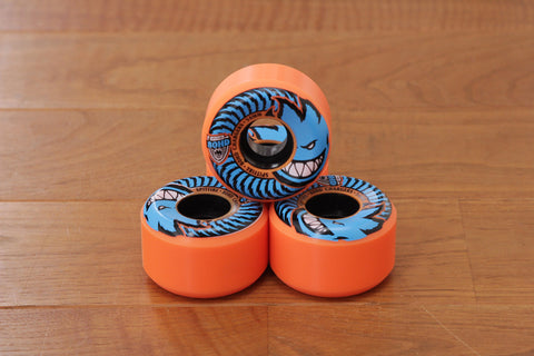 80HD CHARGERS CONICAL WHEELS 54mm - Orange