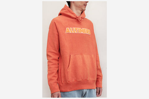 BIG N BOLD PREMIUM HOODY - Orange