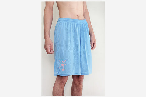 LEAGUE PLAYER SHORTS - Swiss Blue