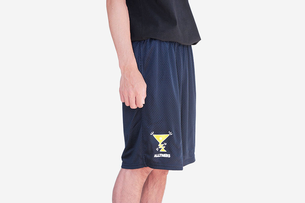ACTION LOGO SHORTS - Navy