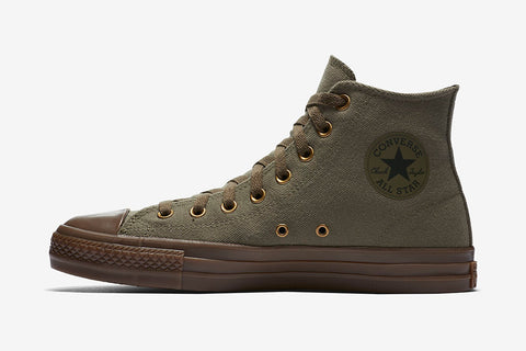 CONS CTAS PRO X KEVIN RODRIGUES HIGH TOP - Medium Olive