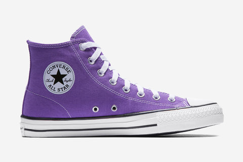 CONS CTAS PRO SKATE HI CANVAS - Electric Purple