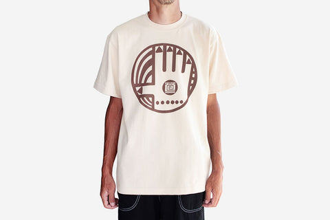 HAND POWER T-SHIRT - Sand