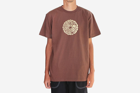 STAR T-SHIRT - Brown