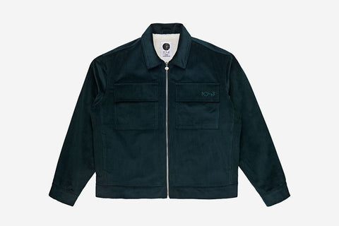 CORD JACKET - Dark Teal