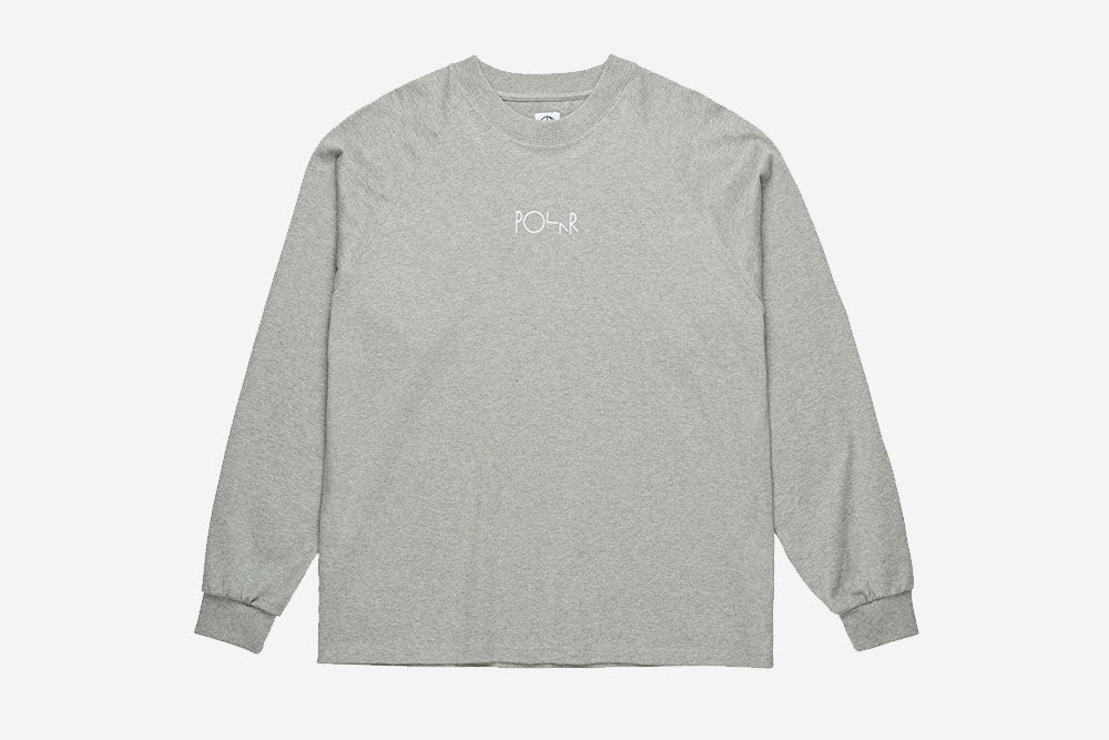 DEFAULT LONGSLEEVE - Heather Grey