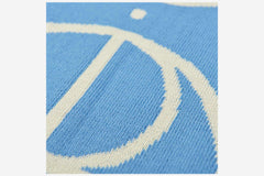 STROKE LOGO SCARF - Pool Blue