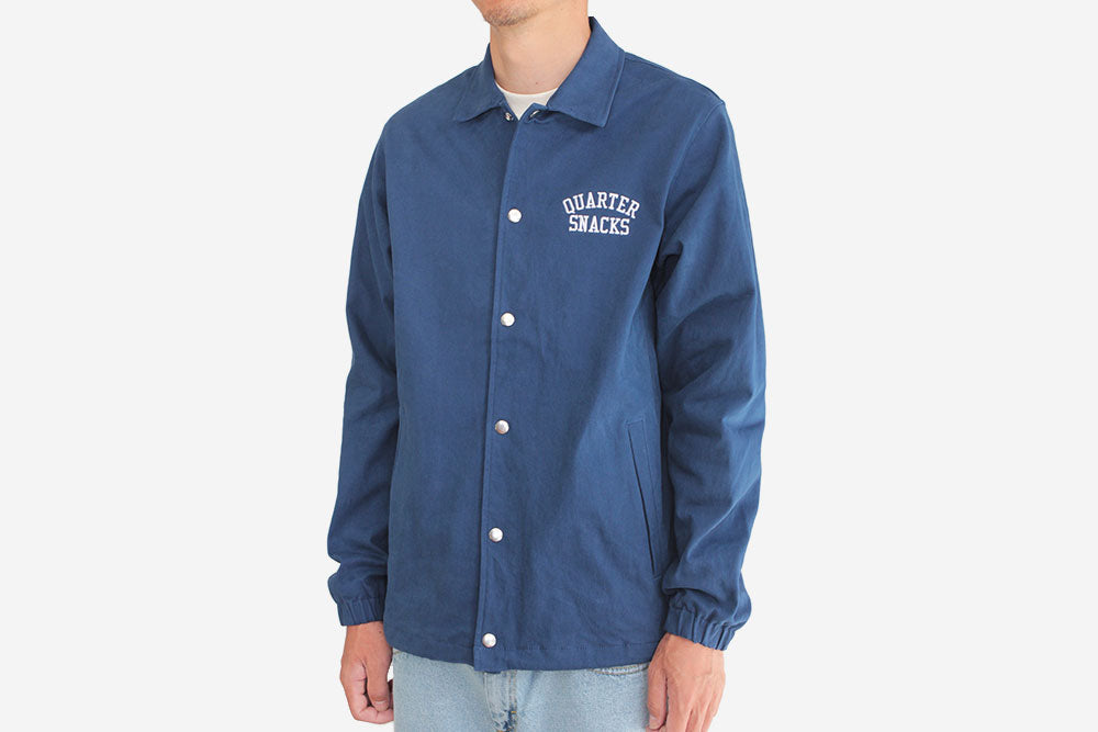 CANVAS COACH JACKET - Navy