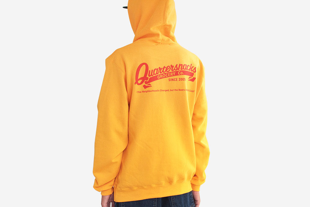 GROCERY CHAMPION® HOODY - Yellow