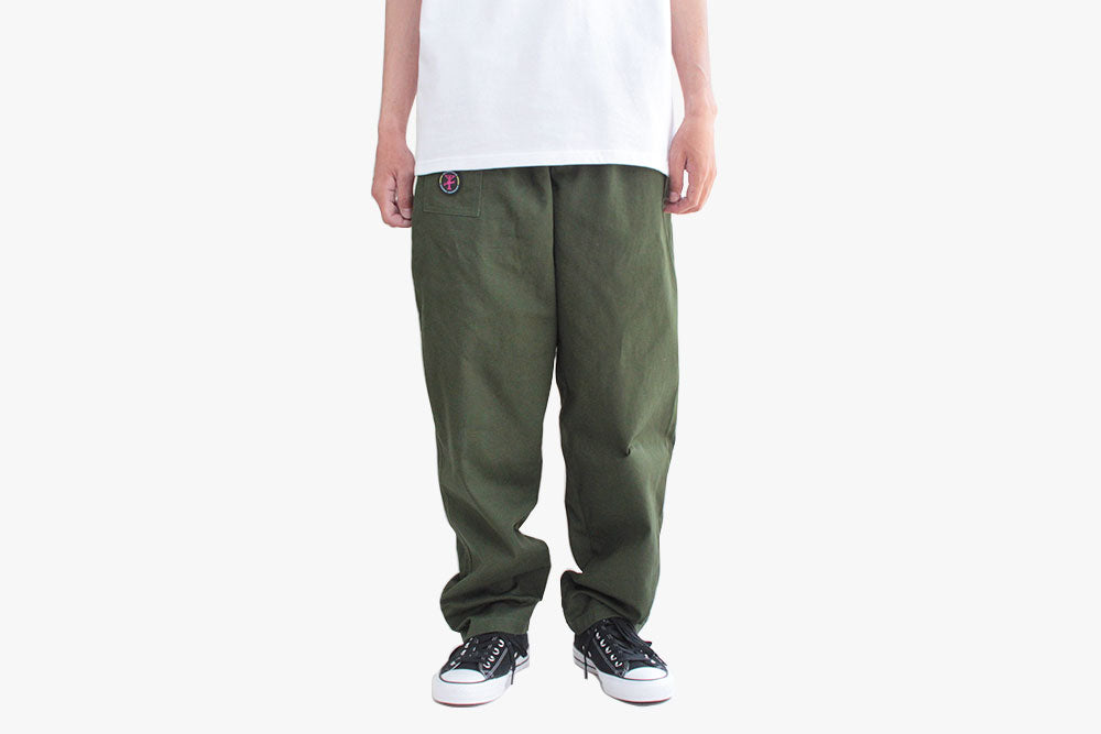 YACHT RENTAL PANTS - Forest Green