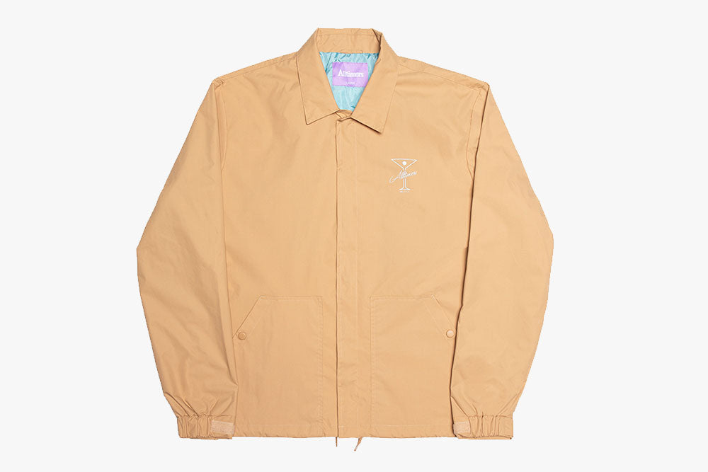 FINESSE COACHES JACKET - Tan
