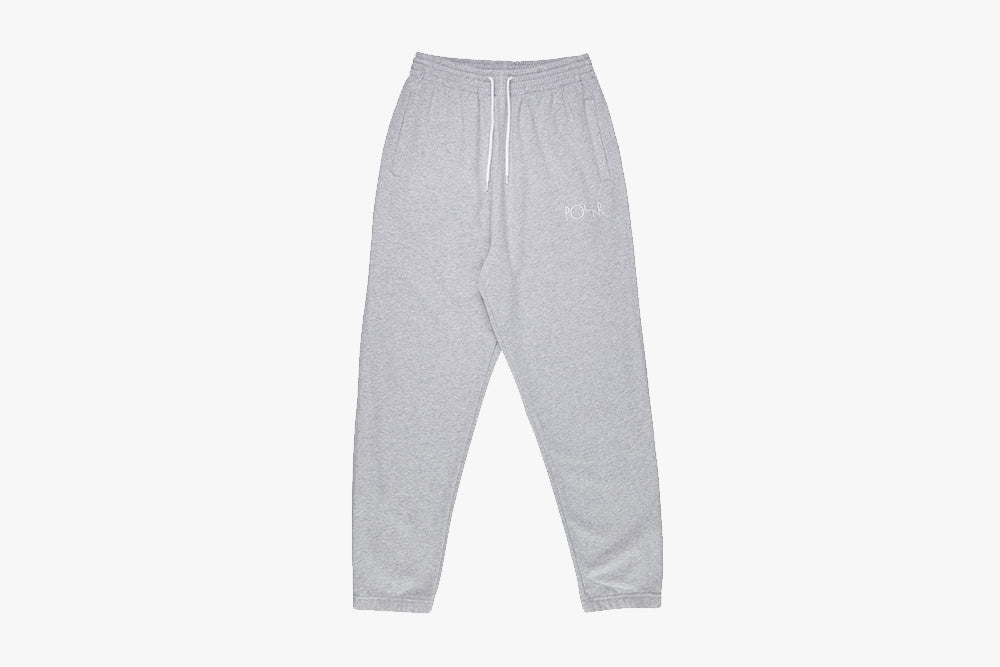 DEFAULT SWEAT PANTS - Heather Grey WI19