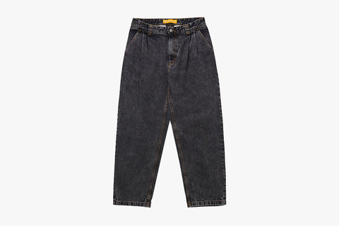 DENIM CHINOS - Washed Black WI19