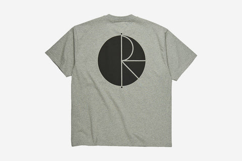 FILL LOGO TEE - Heather Grey/Black