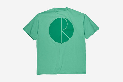 FILL LOGO TEE - Peppermint/Dark Green