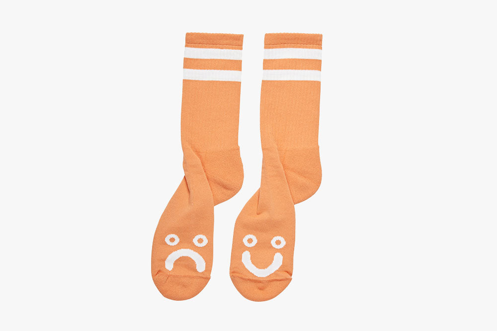 HAPPY SAD SOCKS - Light Orange SU19
