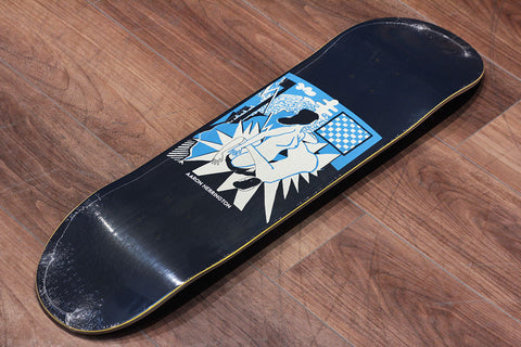"AARON HERRINGTON / 69 NAVY - 8.25"" x 31.875"""