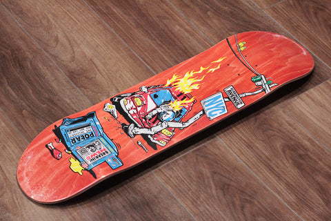 "AARON HERRINGTON / CRASH - 8.25"" x 31.875"""
