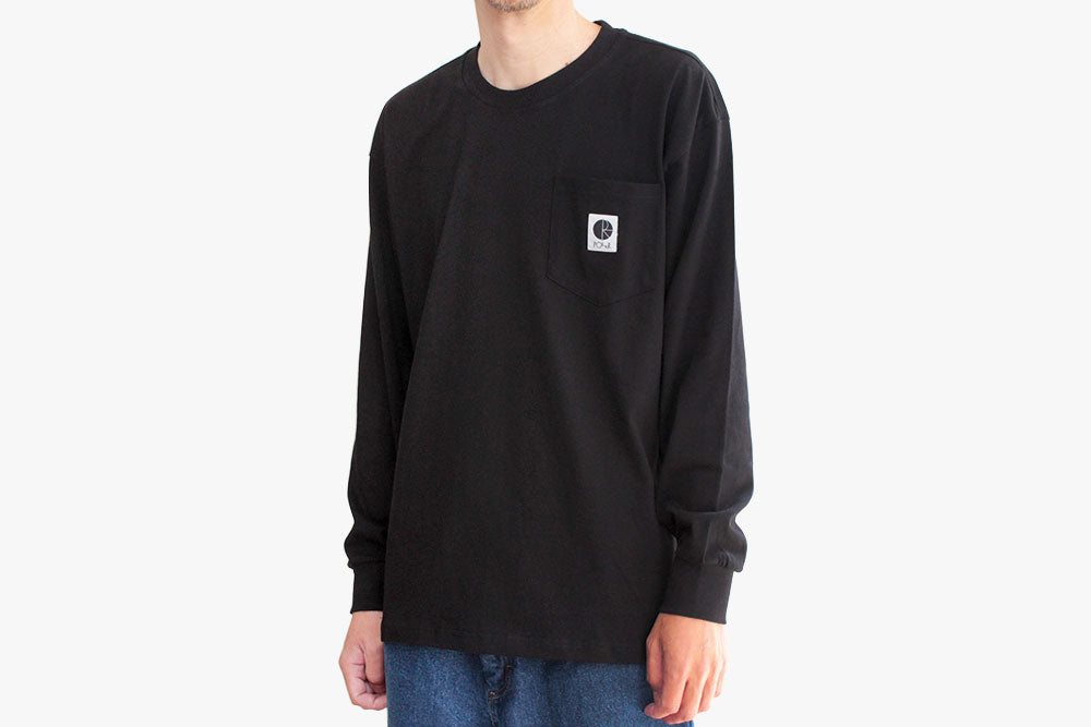 POCKET LONGSLEEVE - Black