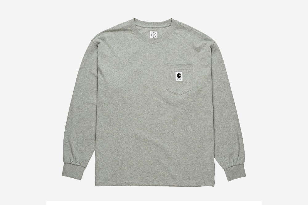 POCKET LONGSLEEVE - Heather Grey
