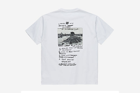 STRONGEST NOTES TEE - White