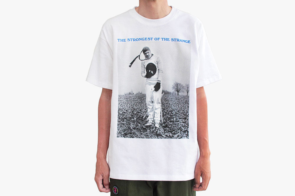 THE STRONGEST OF THE STRANGE TEE - White