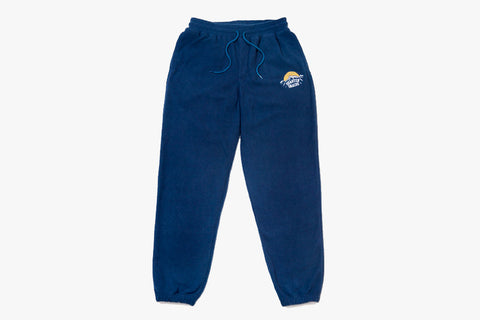 FLEECE SWEATPANTS - Navy