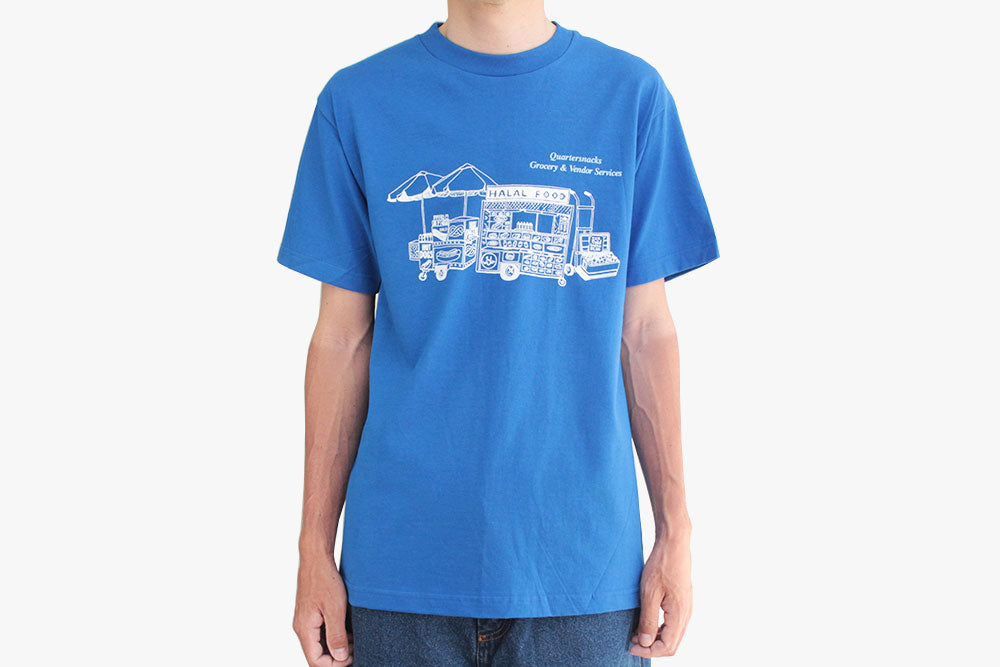 GROCERY & VENDOR SERVICES TEE - Royal Blue