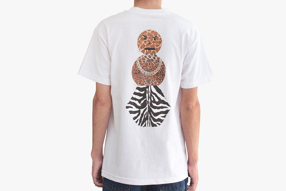 SAFARI SNACKMAN CHARITY TEE - White