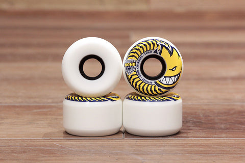 80HD CHARGERS CONICAL WHEELS 54mm - White