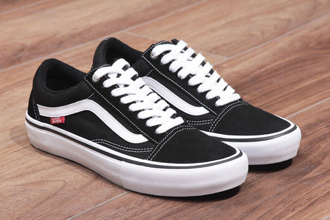 OLD SKOOL PRO - Black/White