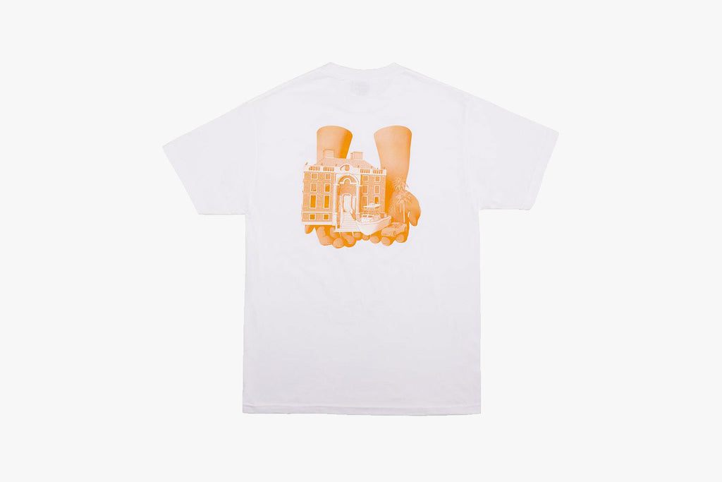 GOOD HANDS TEE - White
